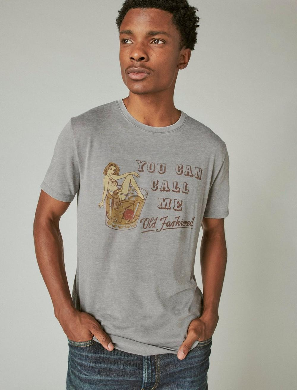 OLD FASHIONED GRAPHIC TEE, image 1