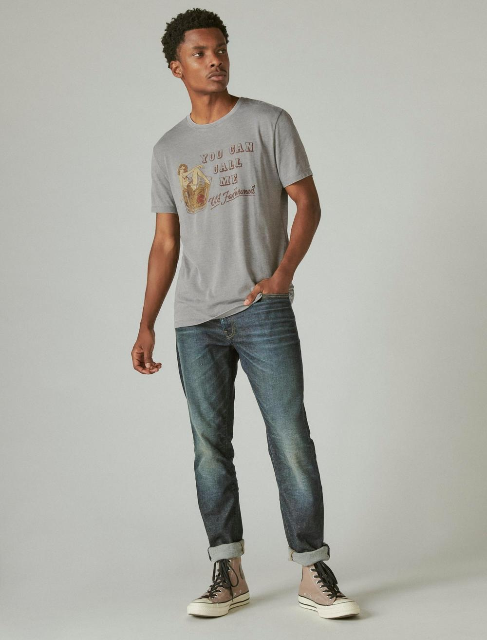 OLD FASHIONED GRAPHIC TEE, image 2