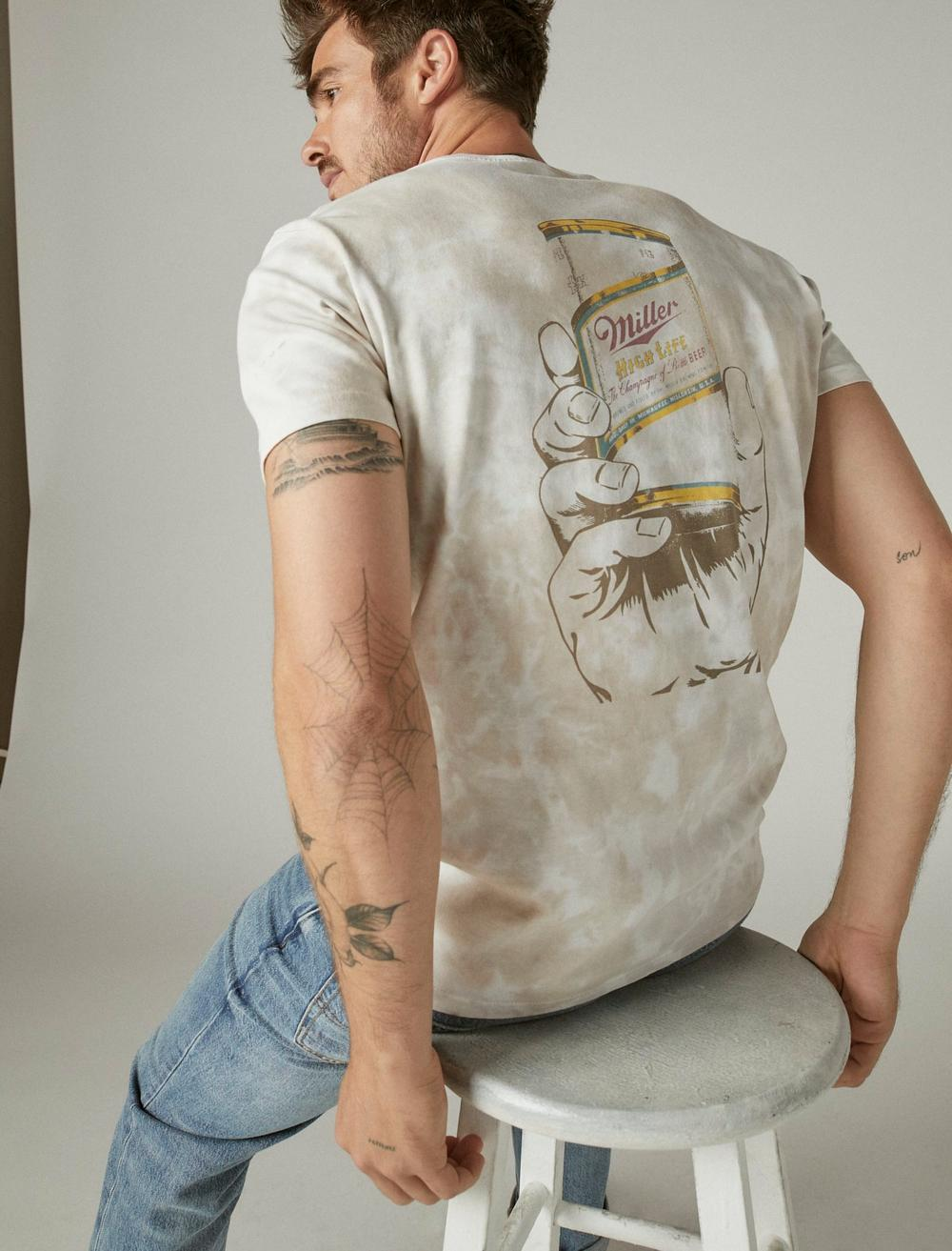 MILLER HIGH LIFE GRAPHIC TEE, image 6