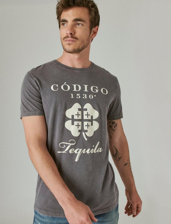 Codigo 1530 x Lucky Brand Logo Tee, image 1