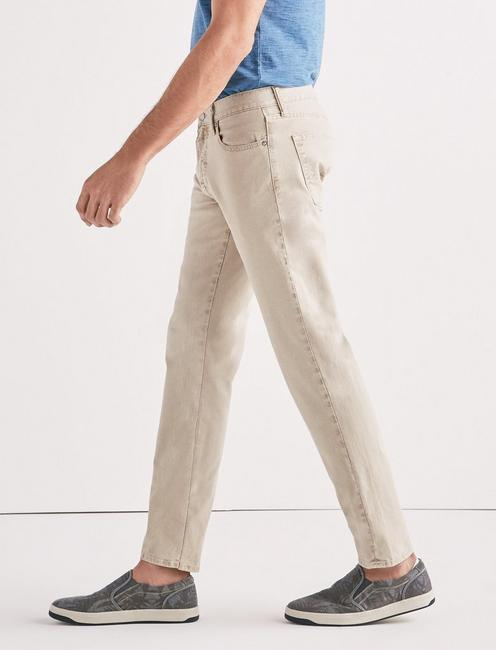 221 STRAIGHT STRETCH CANVAS JEAN,