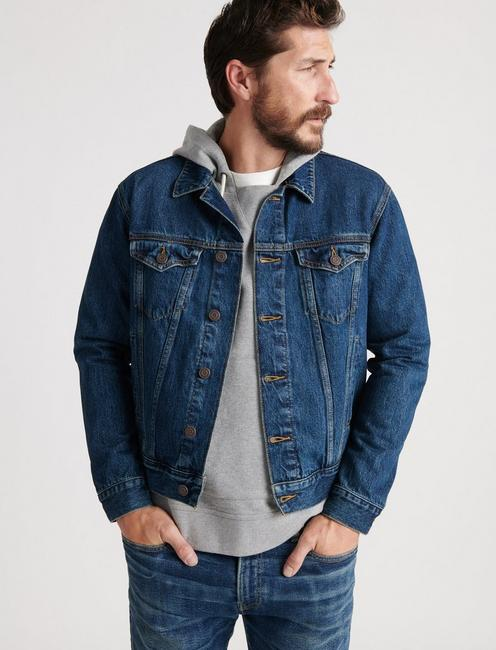 THE TRUCKER JACKET, GRAVES