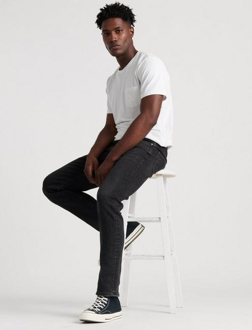 121 SLIM JEAN, BENOIT BLACK