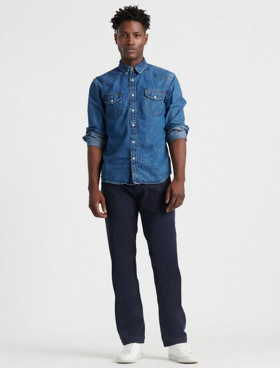 221 STRAIGHT JEAN, OXFORD BLUE, productTileDesktop