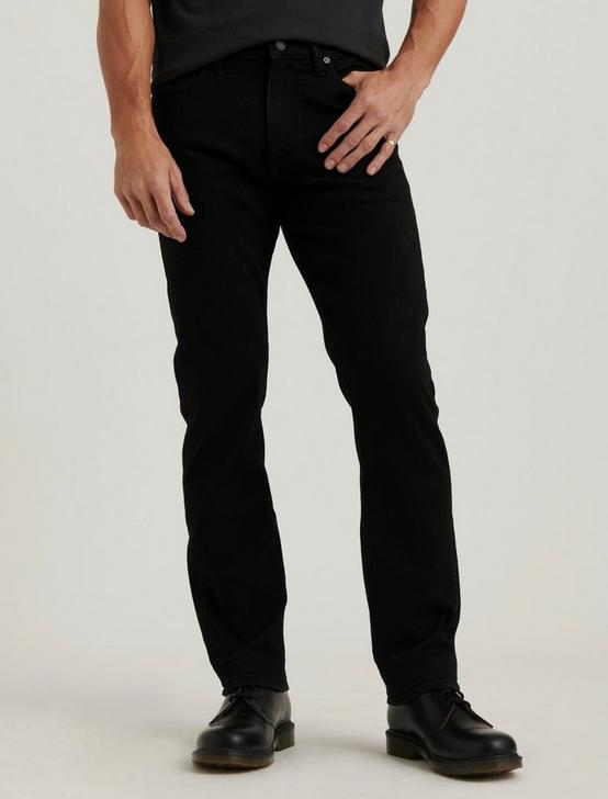 410 ATHLETIC SLIM JEAN, BLACK RINSE, productTileDesktop