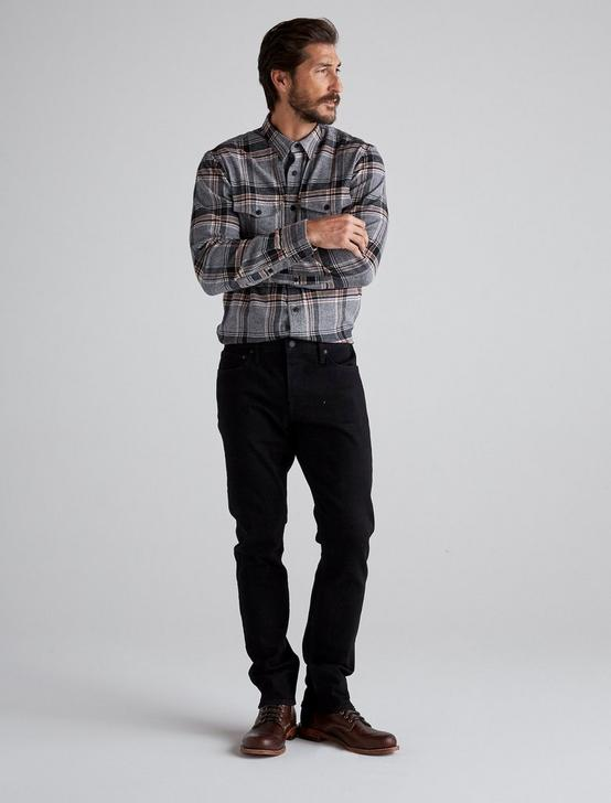 110 SLIM JEAN, BLACK RINSE, productTileDesktop