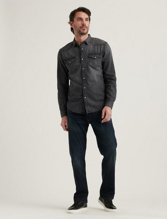WESTERN SHIRT, WESTERN GREY, productTileDesktop