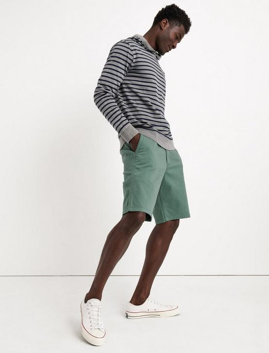STRETCH TWILL FF SHORT, DARK FOREST, productTileDesktop