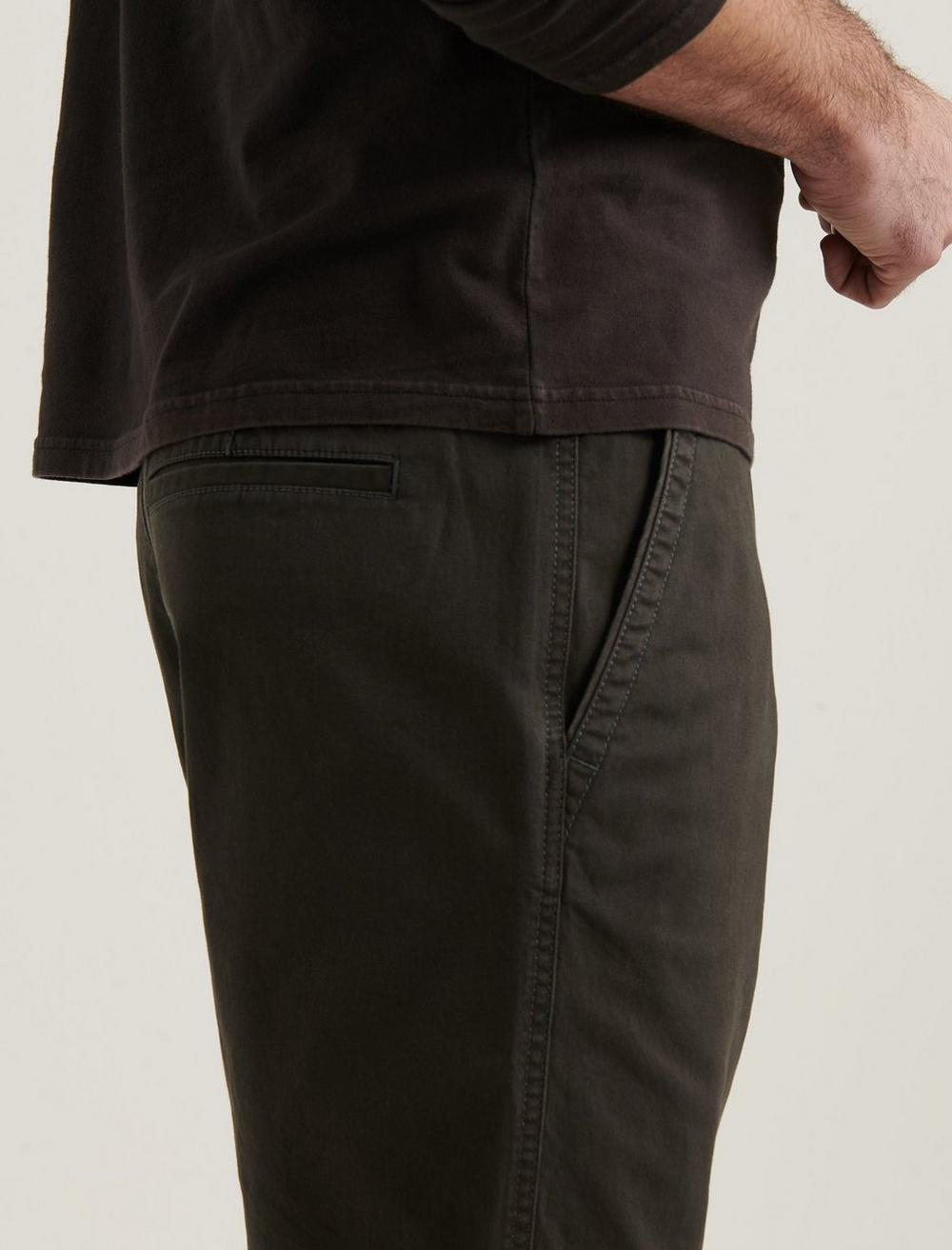 STRETCH TWILL FLAT FRONT SHORT, image 3