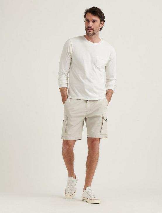 STRETCH TWILL CARGO SHORT, , productTileDesktop
