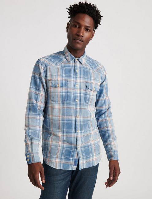 Grom Indigo Western Shirt,