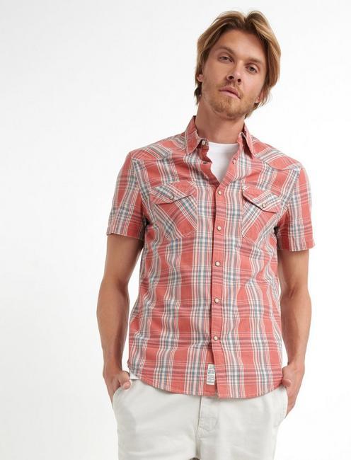Rustic Poplin Western Shirt,