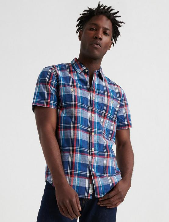 SS MASON WORKWEAR, BLUE PLAID, productTileDesktop