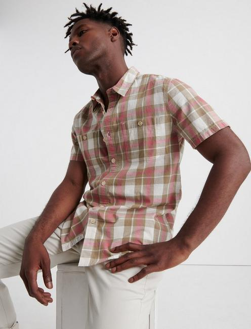 MASON PLAID WORKWEAR SHIRT, RED PLAID