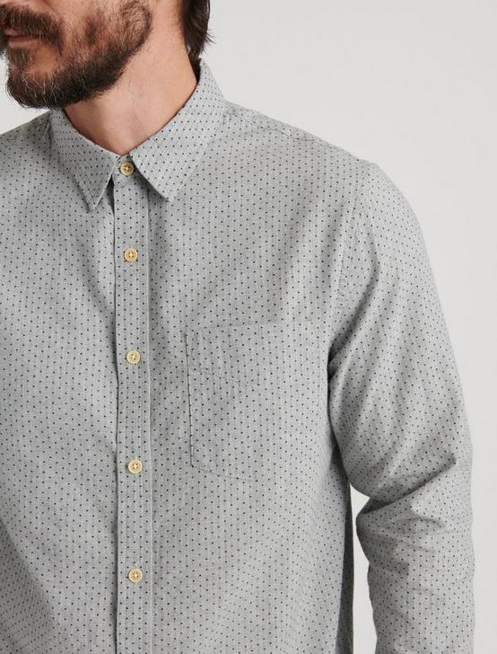 ONE POCKET BALLONA LONG SLEEVE SHIRT, GREY, productTileDesktop