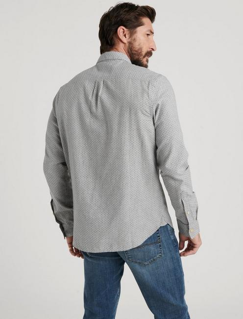 ONE POCKET BALLONA LONG SLEEVE SHIRT, GREY