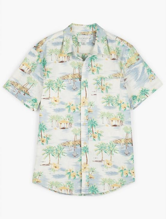 SAN GABRIEL ONE POCKET SHORT SLEEVE SHIRT, MULTI, productTileDesktop