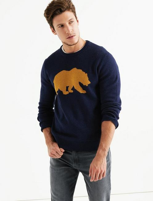 CALIFORNIA BEAR  SWEATER,