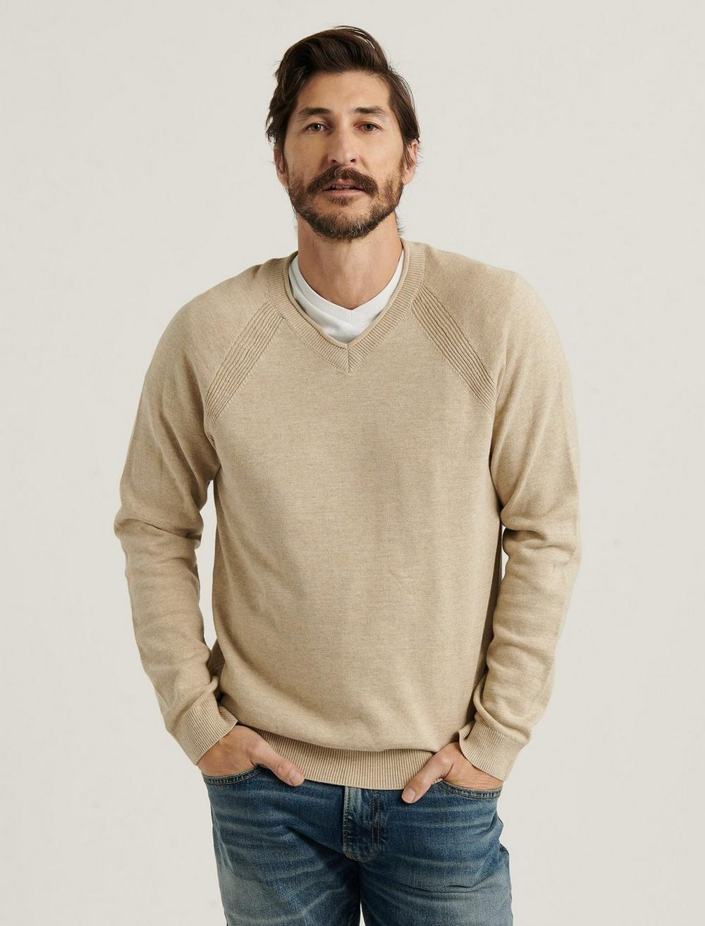 WELTER WEIGHT V-NECK SWEATER, image 1