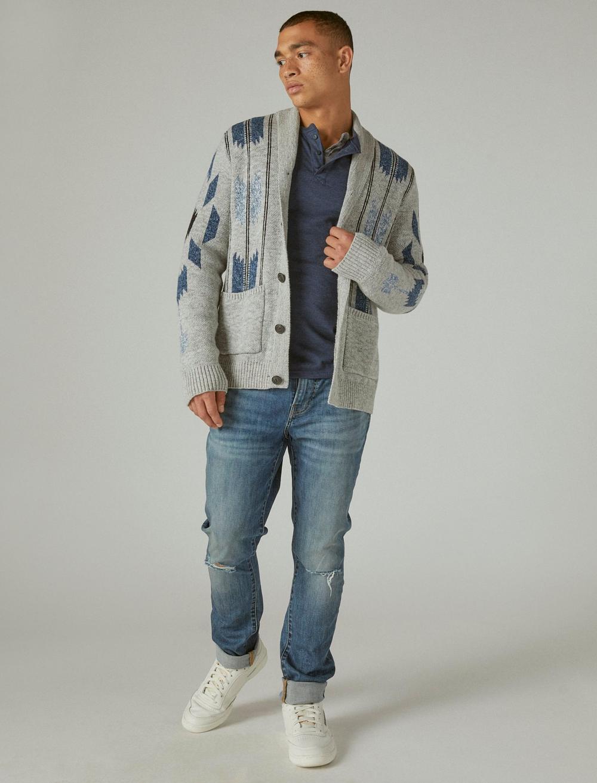 CHIMAYO SHAWL COLLAR CARDIGAN, image 2
