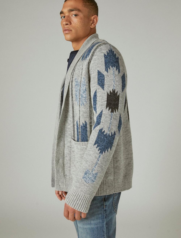 CHIMAYO SHAWL COLLAR CARDIGAN, image 3