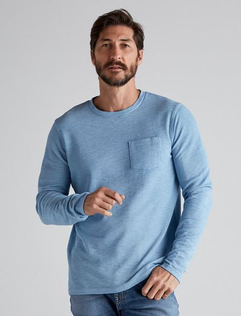 LONG SLEEVE CREW NECK POCKET THERMAL,