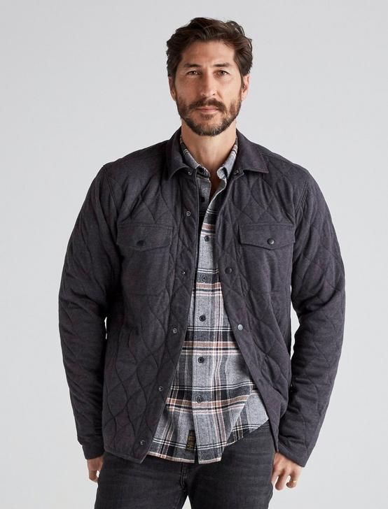 QUILTED JACKET, CHARCOAL, productTileDesktop
