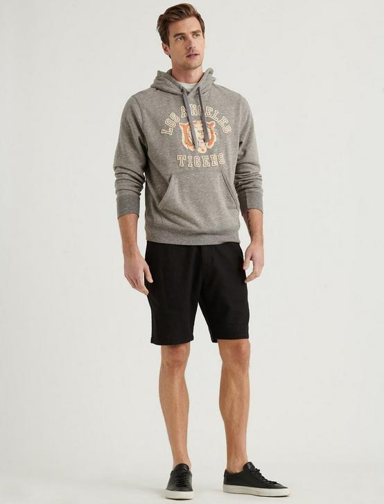 LOS ANGELES TIGERS TRIBLEND TERRY HOODIE, HEATHER GREY, productTileDesktop