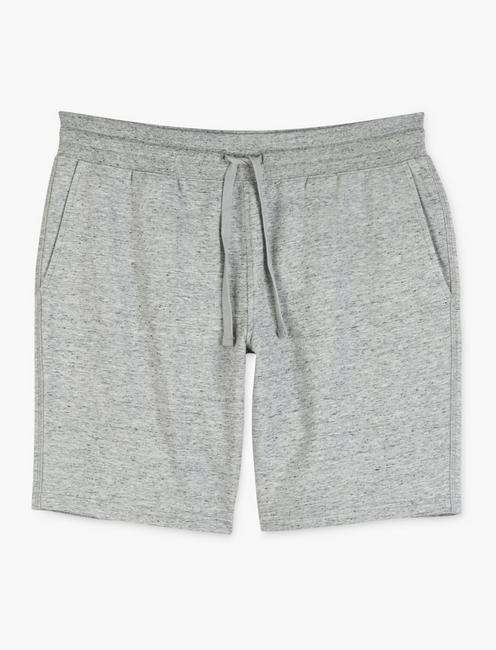 TRIBLEND FRENCH TERRY SHORTS, HEATHER GREY