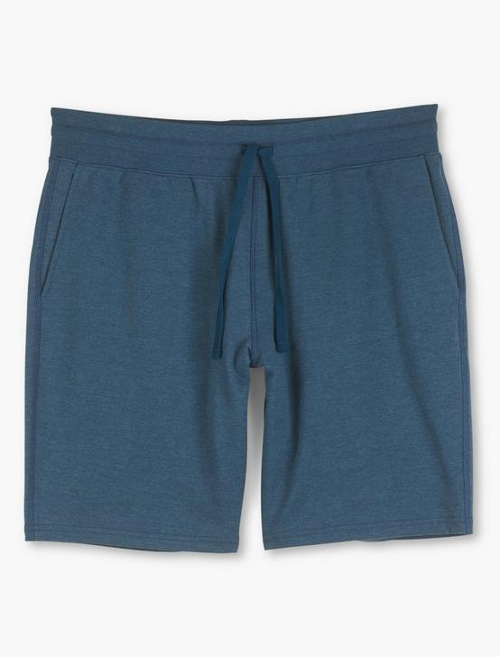 TRIBLEND FRENCH TERRY SHORTS, INK BLUE, productTileDesktop