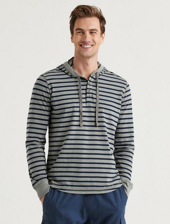 WASHED STRIPED SHASTA HOODIE, MULTI, productTileDesktop