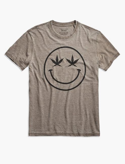 WEED SMILES TEE,