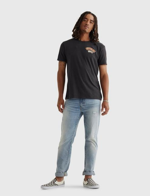 ACES OVER EIGHTS TEE, JET BLACK