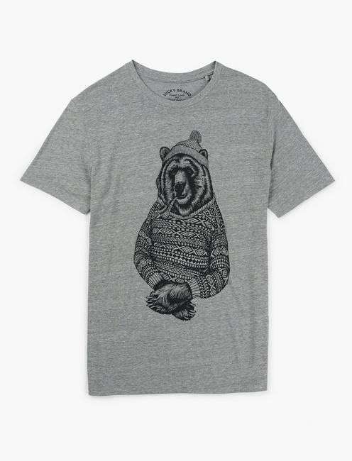 BEAR SWEATER SWEATER, GREY