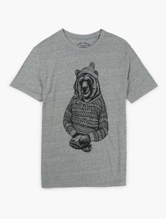 BEAR SWEATER SWEATER, GREY, productTileDesktop
