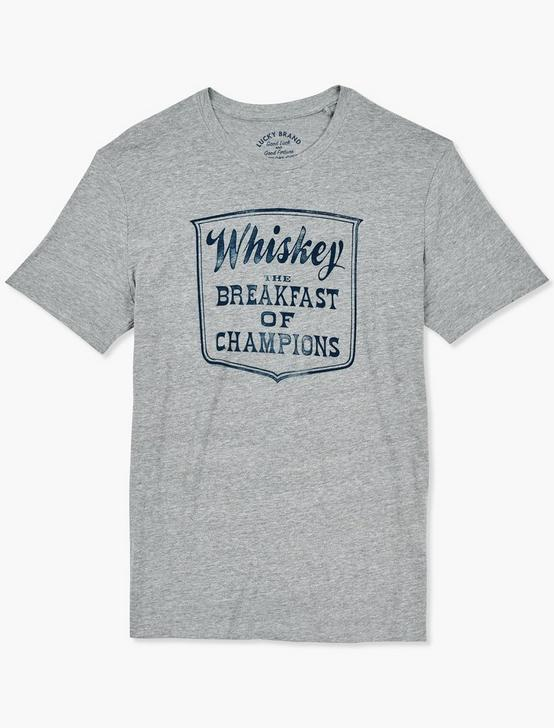 WHISKEY BREAKFAST TEE, GREY, productTileDesktop