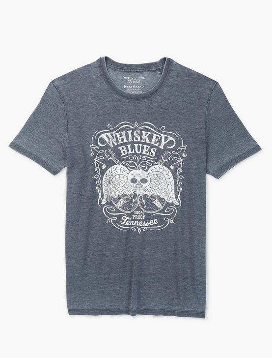 WHISKEY BLUES TEE, JET BLACK, productTileDesktop