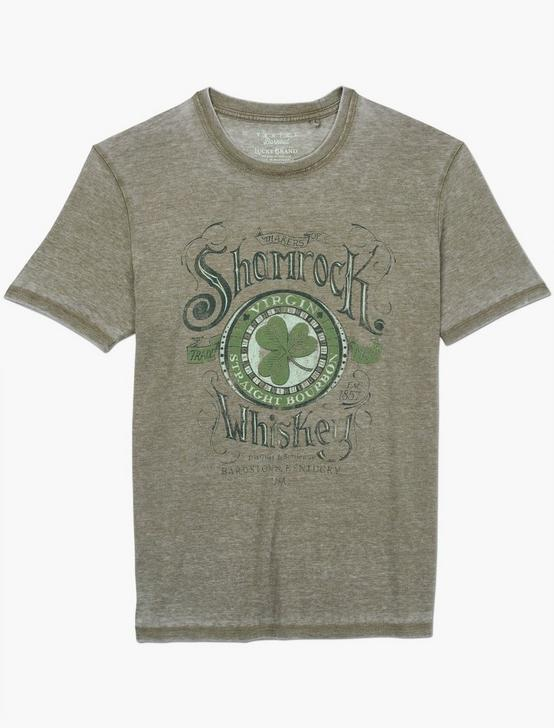 SHAMROCK WHISKEY TEE, DARK OLIVE, productTileDesktop