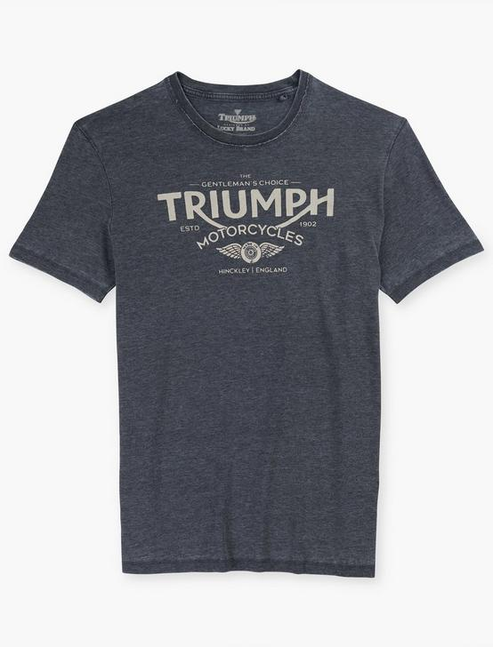 TRIUMPH CHOICE TEE, JET BLACK, productTileDesktop