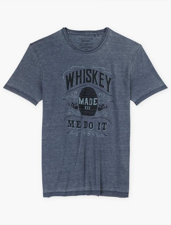 WHISKEY MADE ME DO IT TEE, AMERICAN NAVY, productTileDesktop