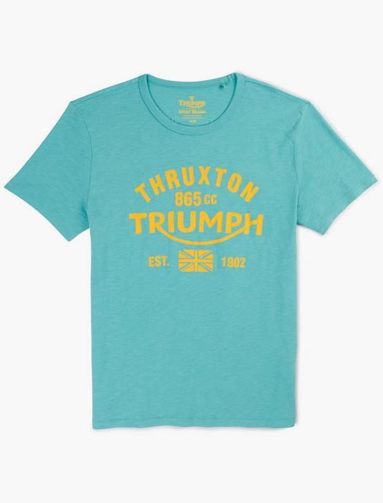 TRIUMPH THRUXTON TEE, MEADOWBROOK, productTileDesktop