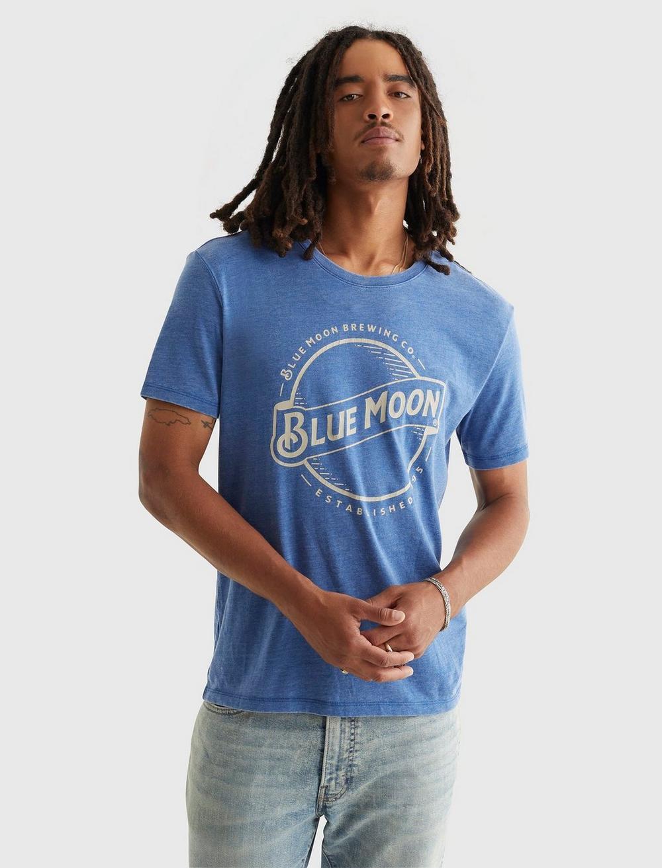 BLUE MOON TEE, image 1