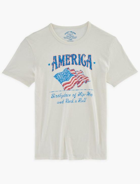 AMERICA'S BIRTHPLACE TEE, SNOW WHITE, productTileDesktop