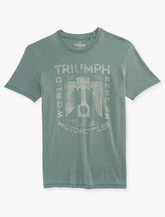TRIUMPH PISTON BURNOUT T