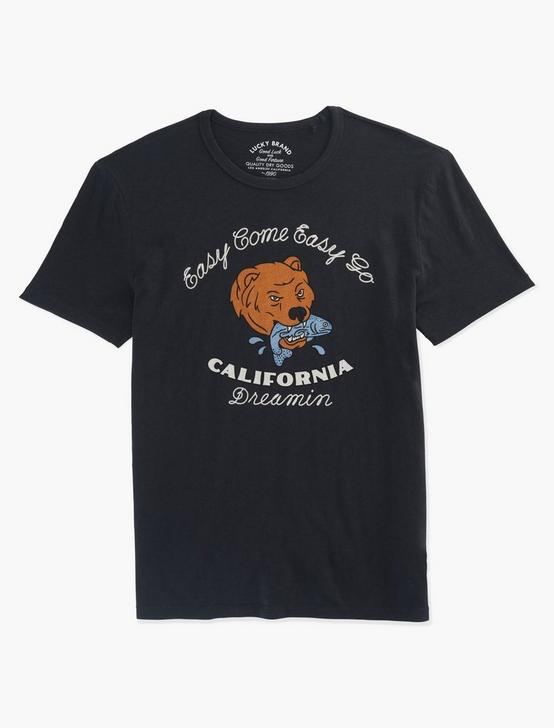 CALIFORNIA DREAMIN TEE, JET BLACK, productTileDesktop