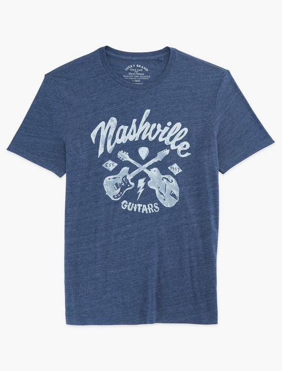 NASHVILLE GUITARS TEE, AMERICAN NAVY, productTileDesktop