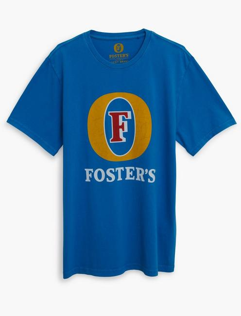 FOSTERS LAGER TEE, CLASSIC BLUE