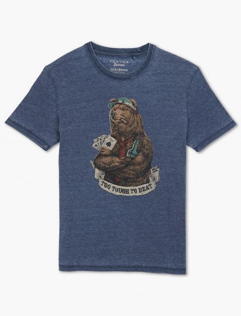 VICE BEAR TEE, AMERICAN NAVY