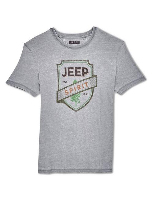 JEEP FOREST TEE, FROST GRAY