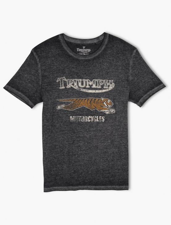 TRIUMPH TIGER RUN TEE, RAVEN, productTileDesktop